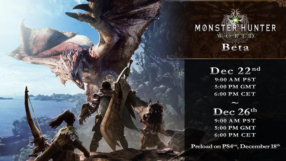 Monster Hunter: World beta 聖誕