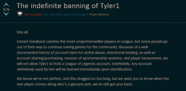 英雄聯盟 Tyler1