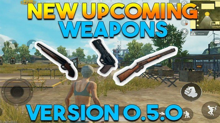 3 New Guns Are Coming To PUBG Mobile On Patch Version 0 5 0