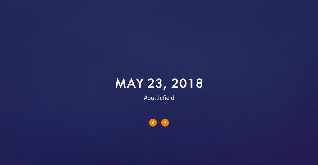 Battlefield V Reveal Set for May 23rd