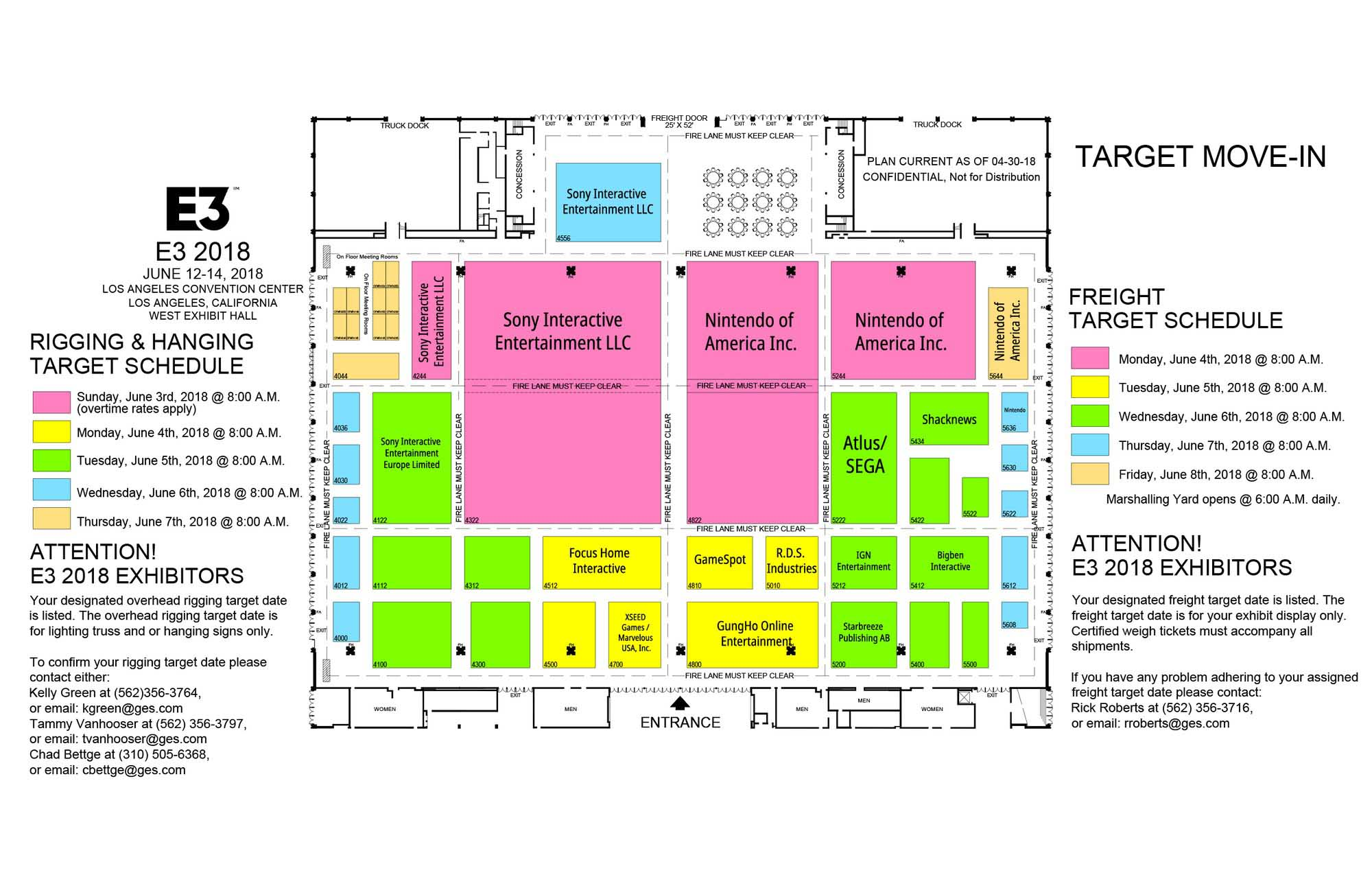 E3 Floor Plan West Hall