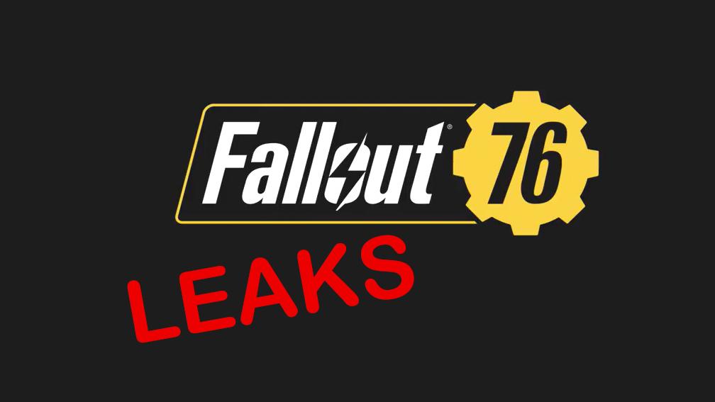 Fallout 76 Leaks