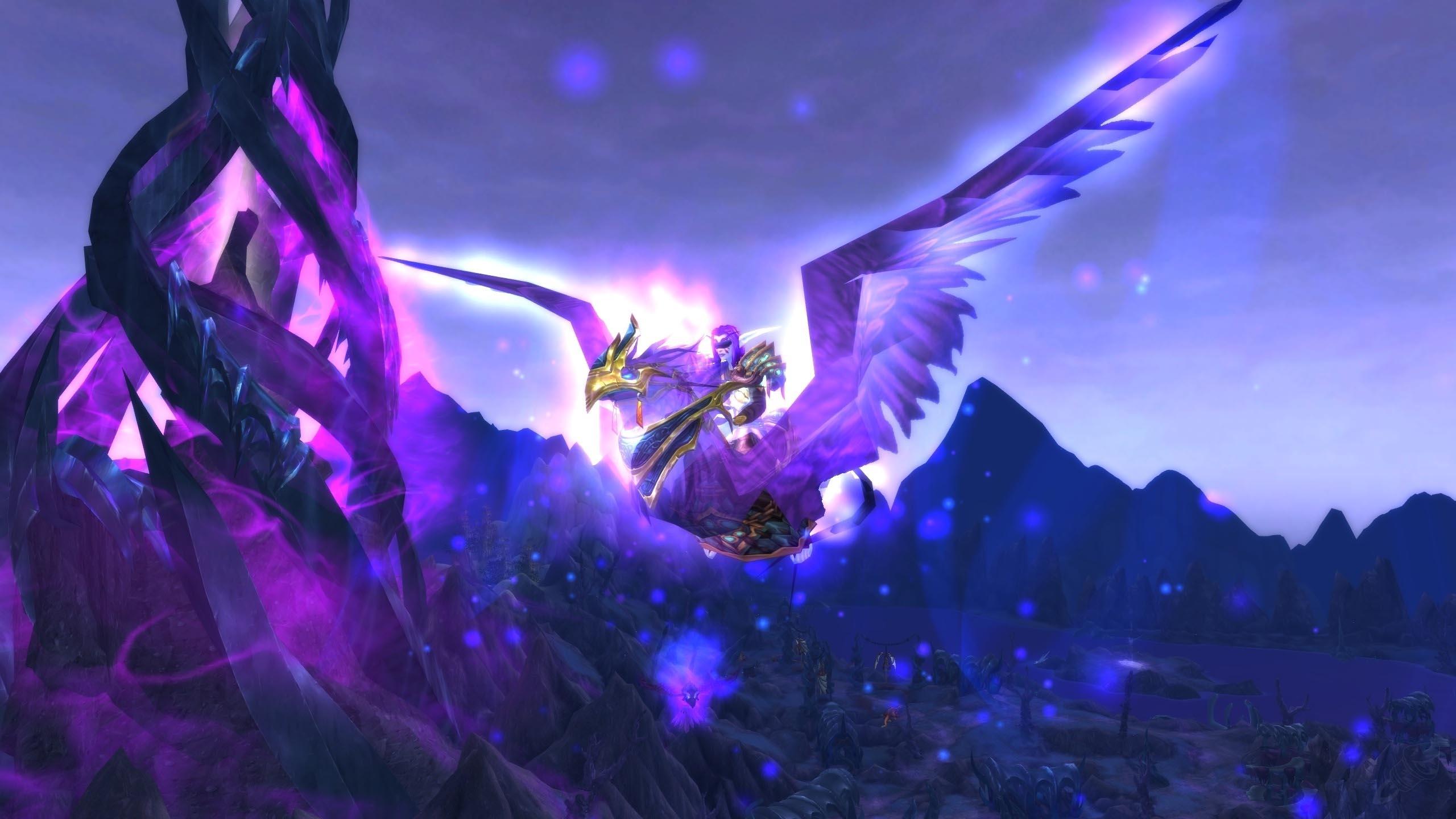 WoW Flying Mount