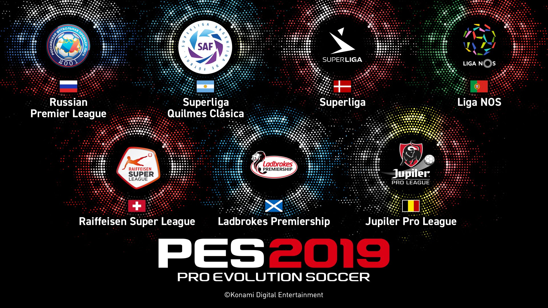 PES 2019 Licensed Leagues Announced With More On The Way