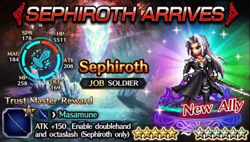 FFBE Sephiroth