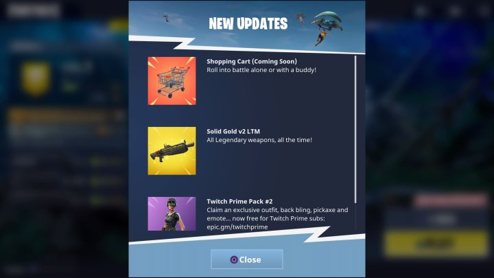 Shopping Carts Coming To Fortnite