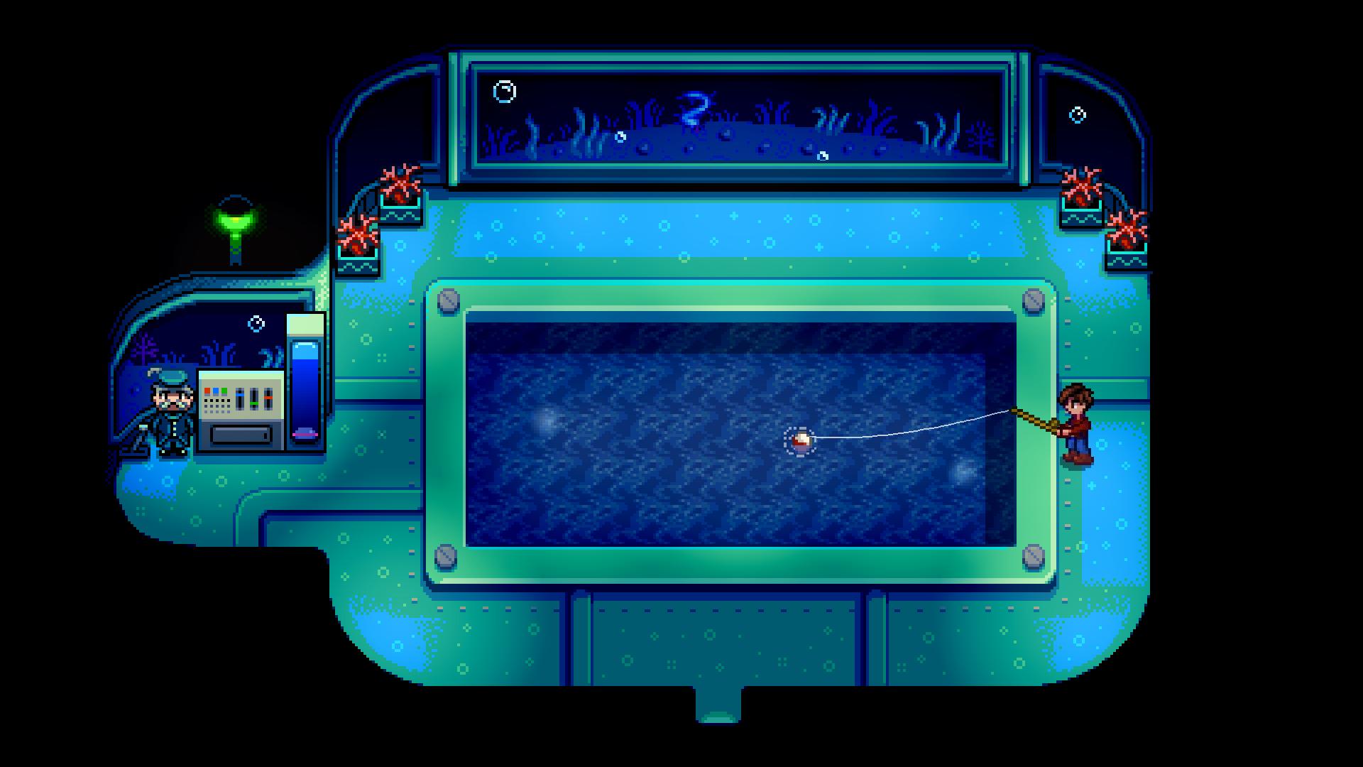 Stardew Valley Multiplayer Beta Deep-Sea Fishing