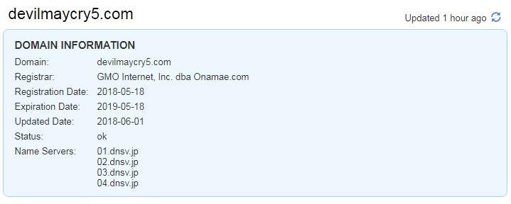 DevilMayCry5.com Registration Sparks E3 Showcase Speculation
