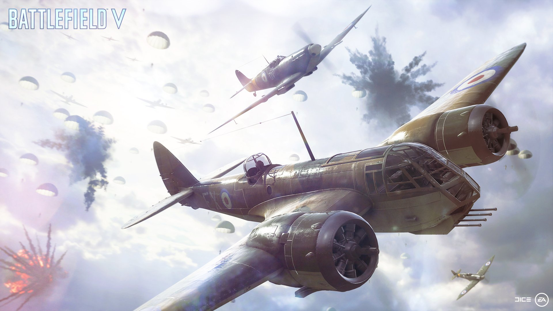 Parachute Into Battlefield V's Airborne Mode
