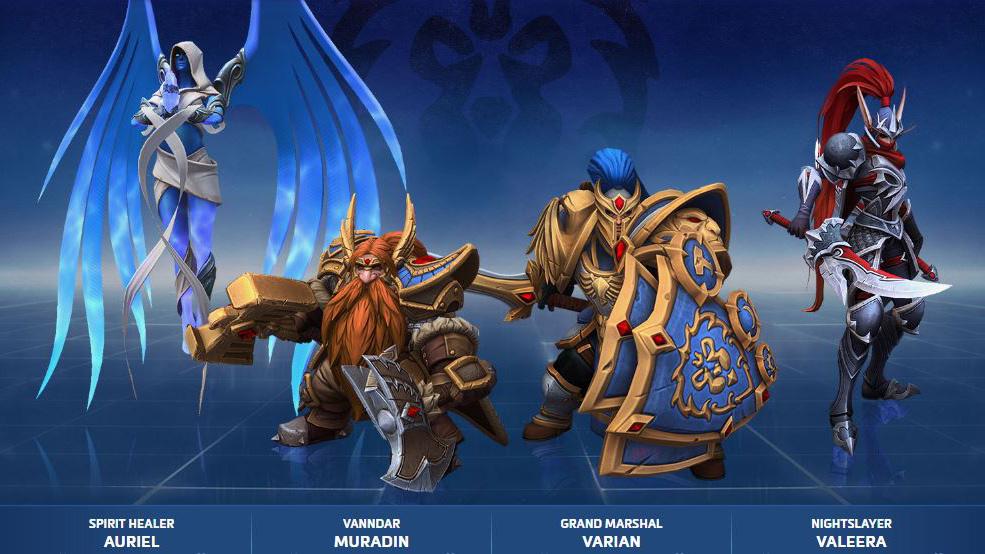Alliance HoTS Skins