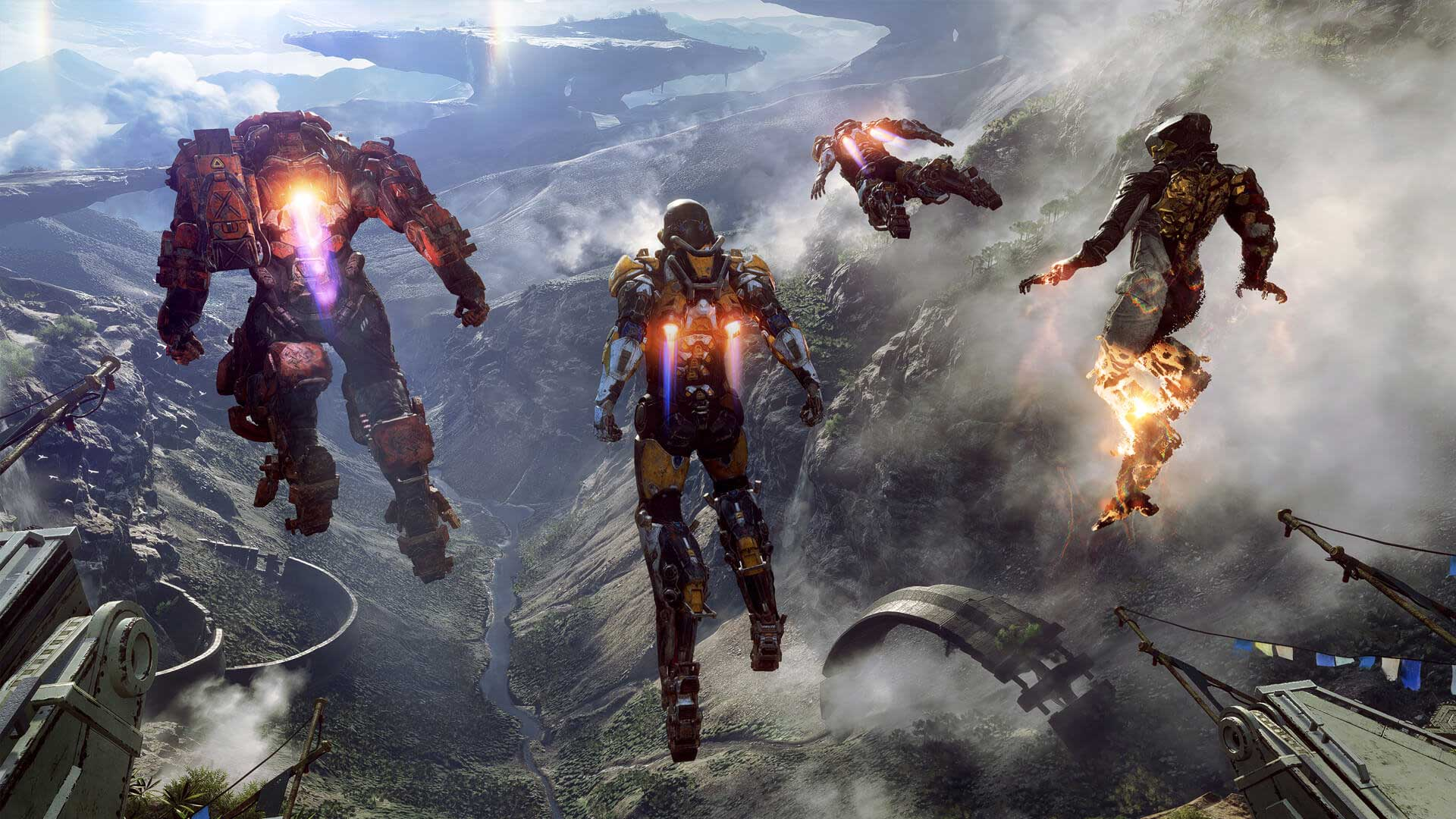 Bioware Teases 'Anthem' Trailer At EA Play