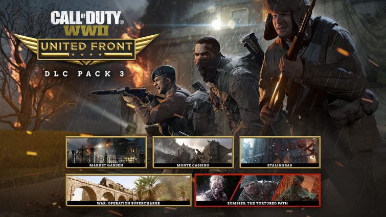 Activision Announces Call of Duty: WW2's 3rd DLC 'United Front'