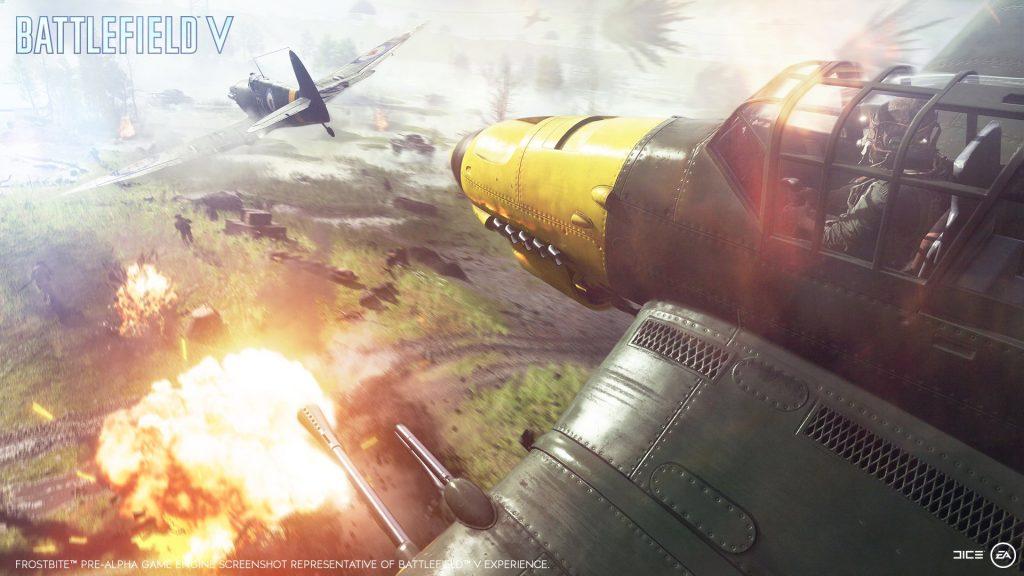 Parachute Into Battlefield V's Airborne Mode
