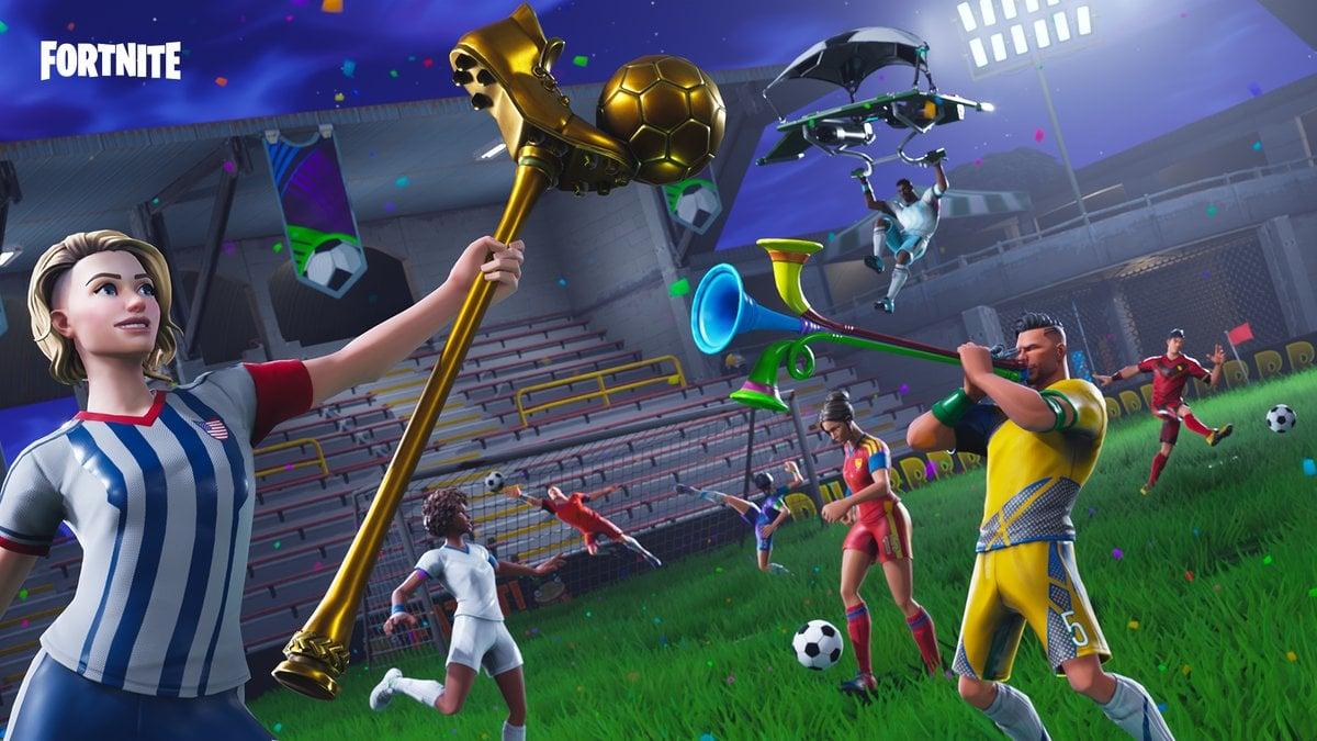 Fortnite Embraces World Cup Spirit