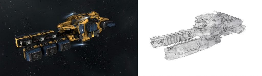 Star Citizen and Eve Online Communities Feud Over Spaceship Design