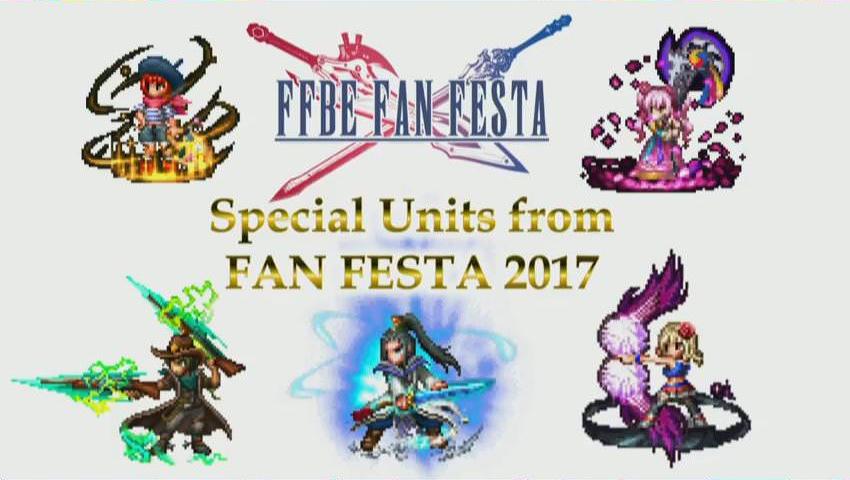 FFBE Fan Festa Units