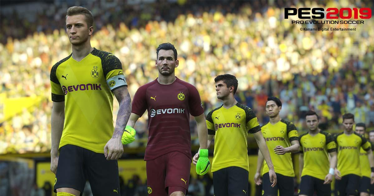 PES 2019 Loses Borussia Dortmund License