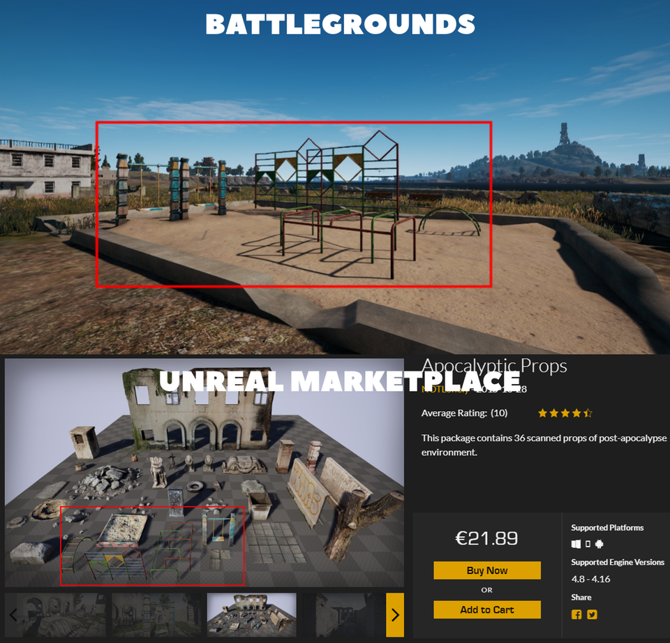 PUBG Says 'Asset Flip' Controversy Is 'Misinformation'