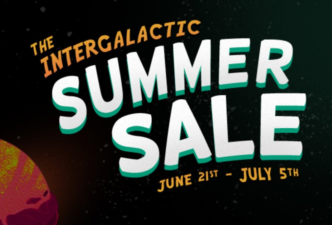 Steam's The Intergalactic Summer Sale Is Now Live