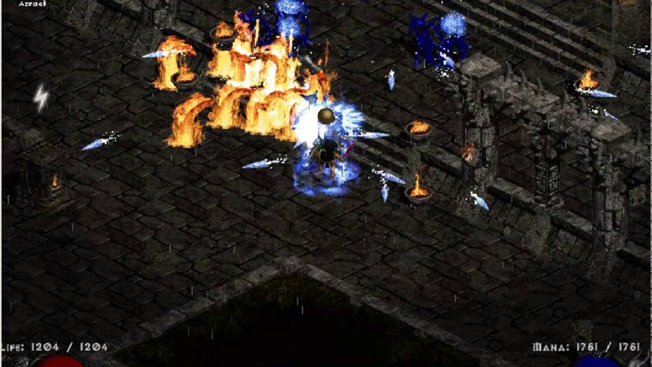 Diablo 2 Frozen Orb