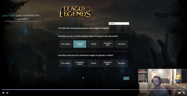 Tyler1 Quits League