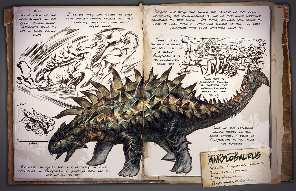 ARK: Survival Evolved Anxylosaurus
