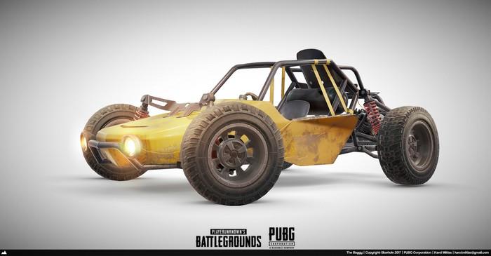 Buggy PUBG