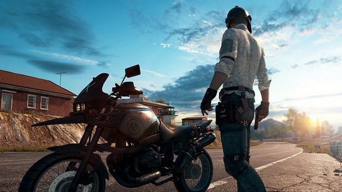 Motorbike PUBG