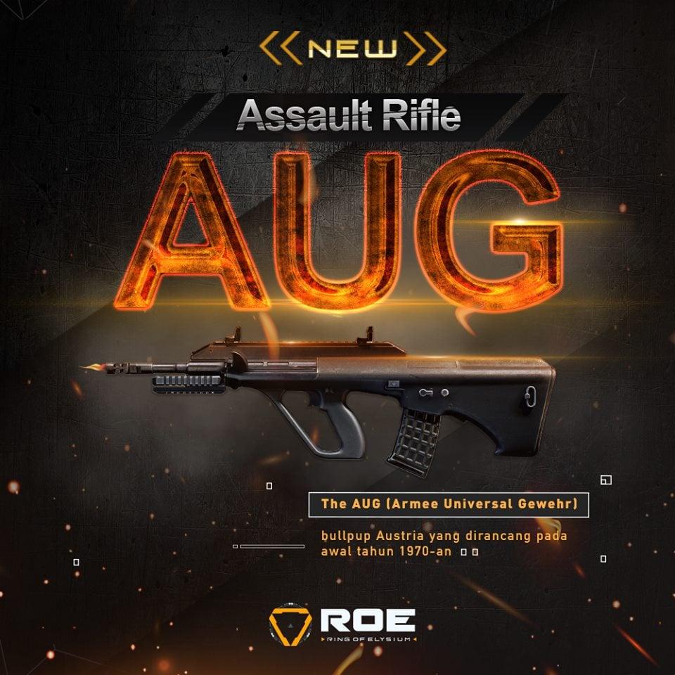 Ring of Elysium AUG Assault Rifle