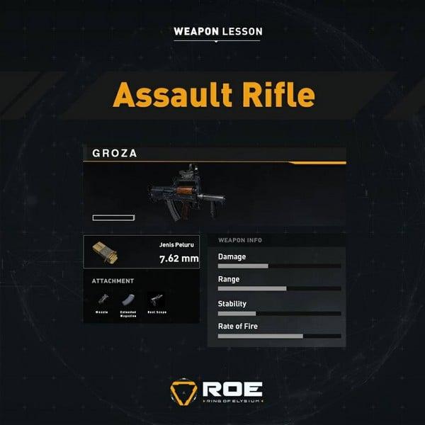 ROE Assault Rifle - Groza
