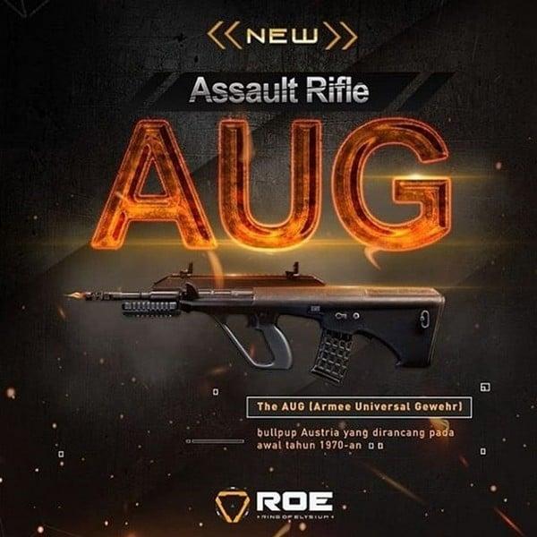 ROE Assault Rifle - AUG