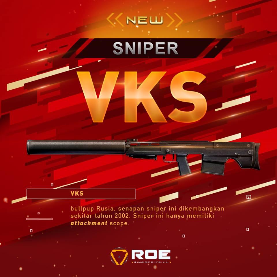 Ring of Elysium VKS Sniper