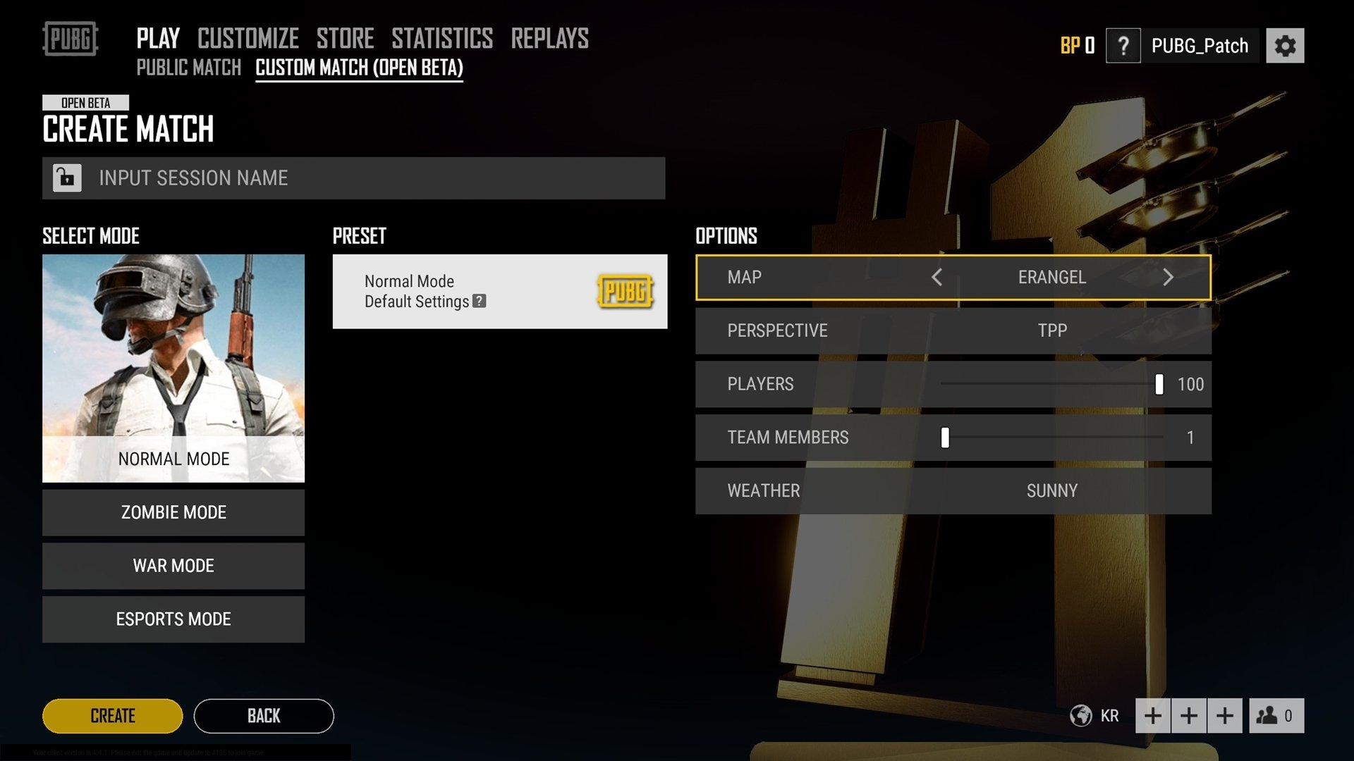 Custom Matches Live On PUBG Test Server, Possibility Of Future Paywall