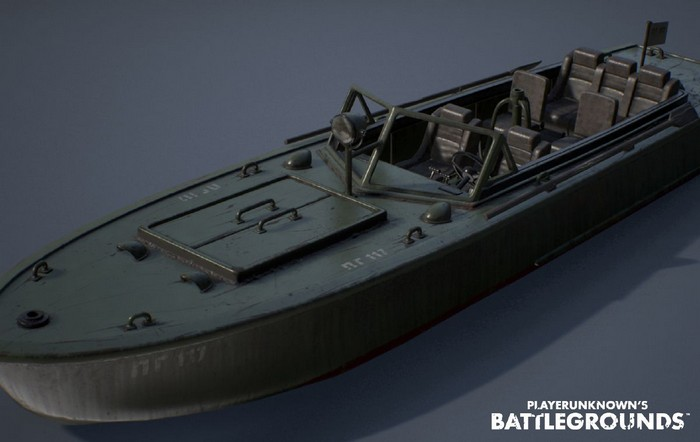 PG-117 Boat PUBG
