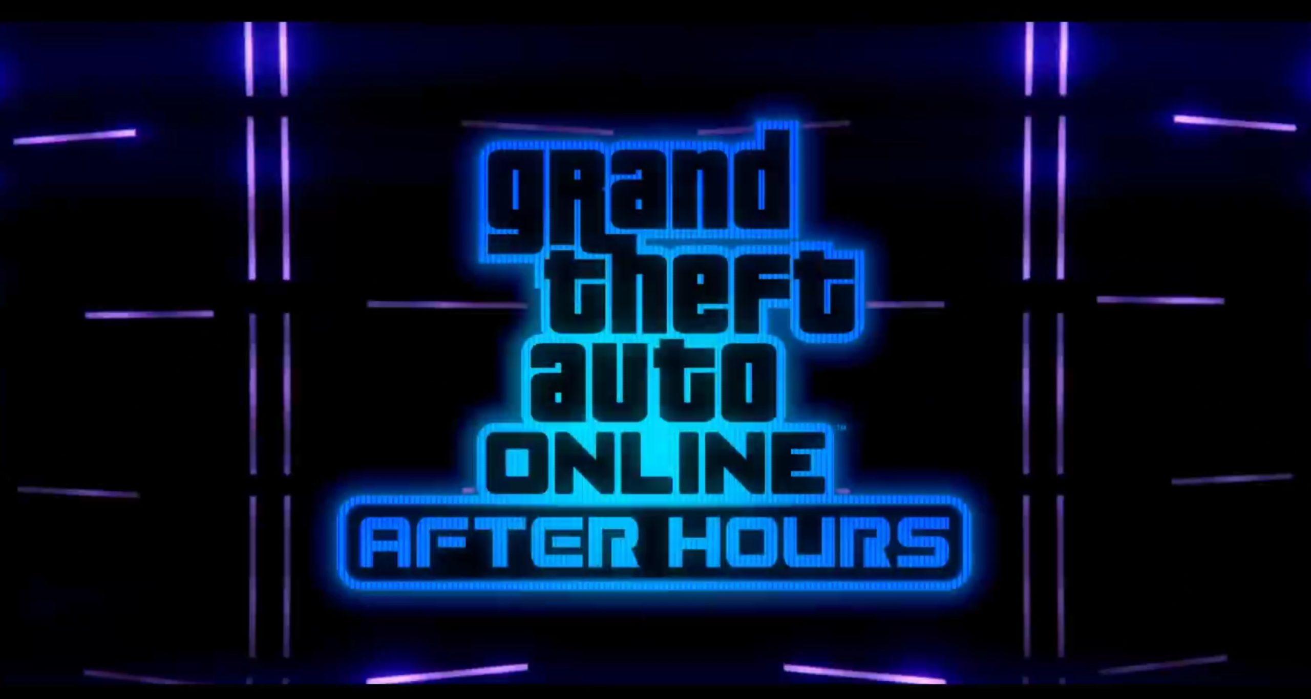 GTA Online Nightlife-Themed Update 'After Hours' Goes Live Next Week