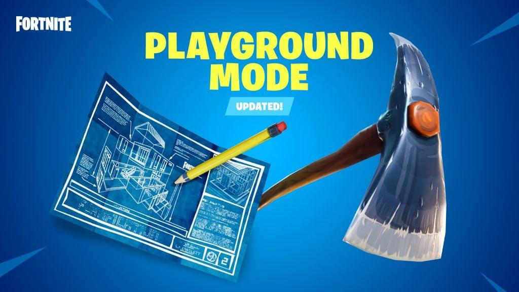 Fortnite Patch 5.10 Is Live, Playground LTM Returns