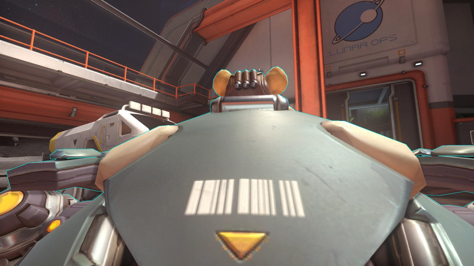 Overwatch Hammond Barcode