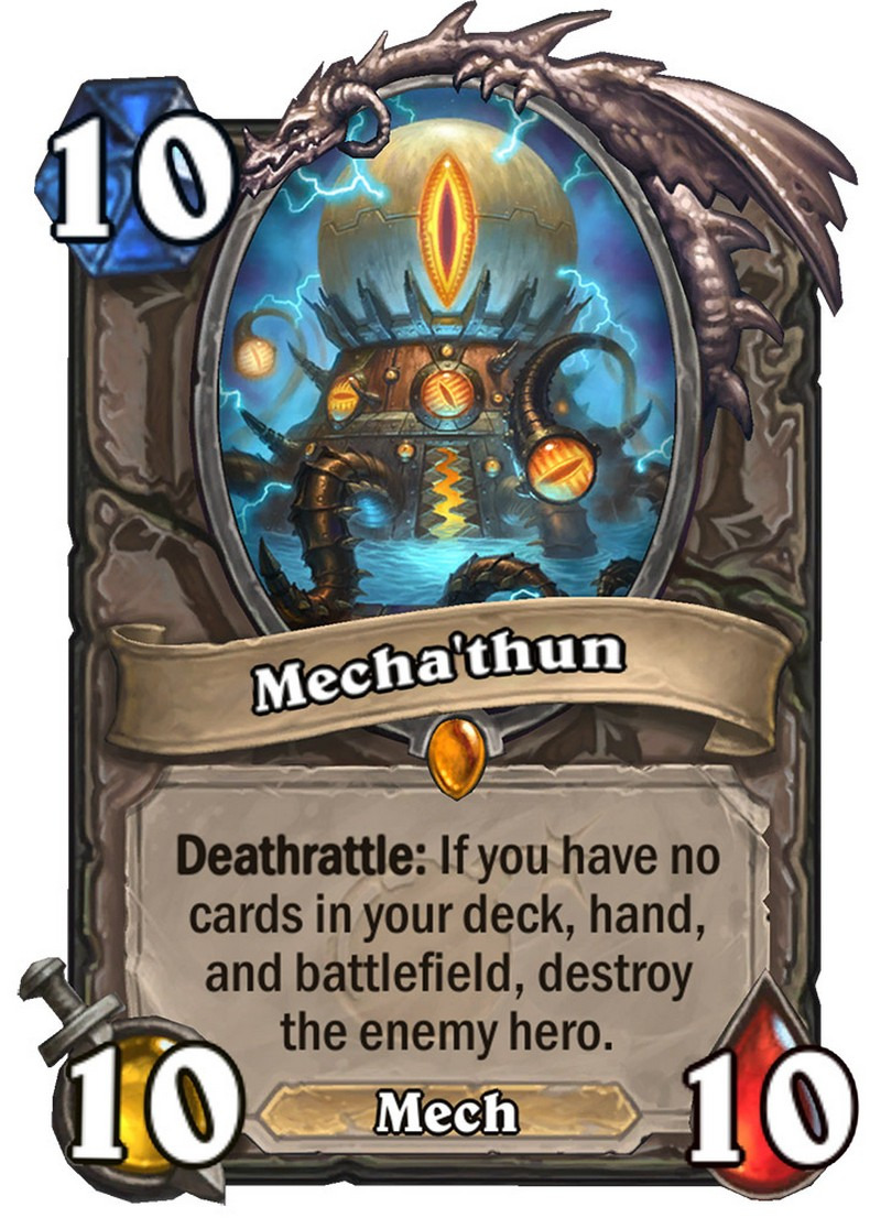 Mecha'thun Hearthstone