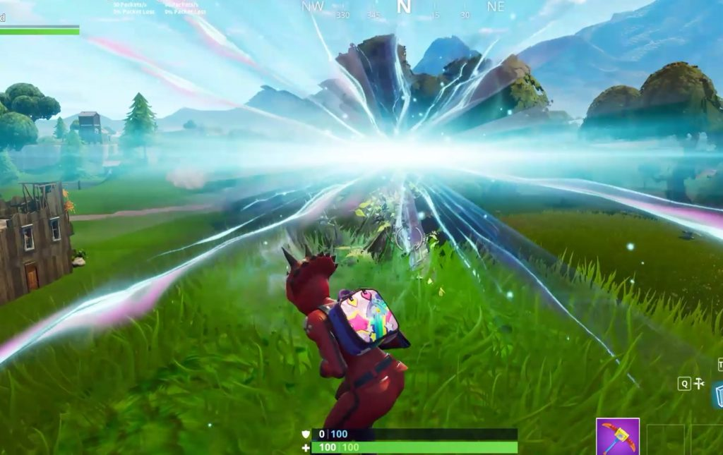 Fortnite's Void Spits Out Western-Style Stage Wagon