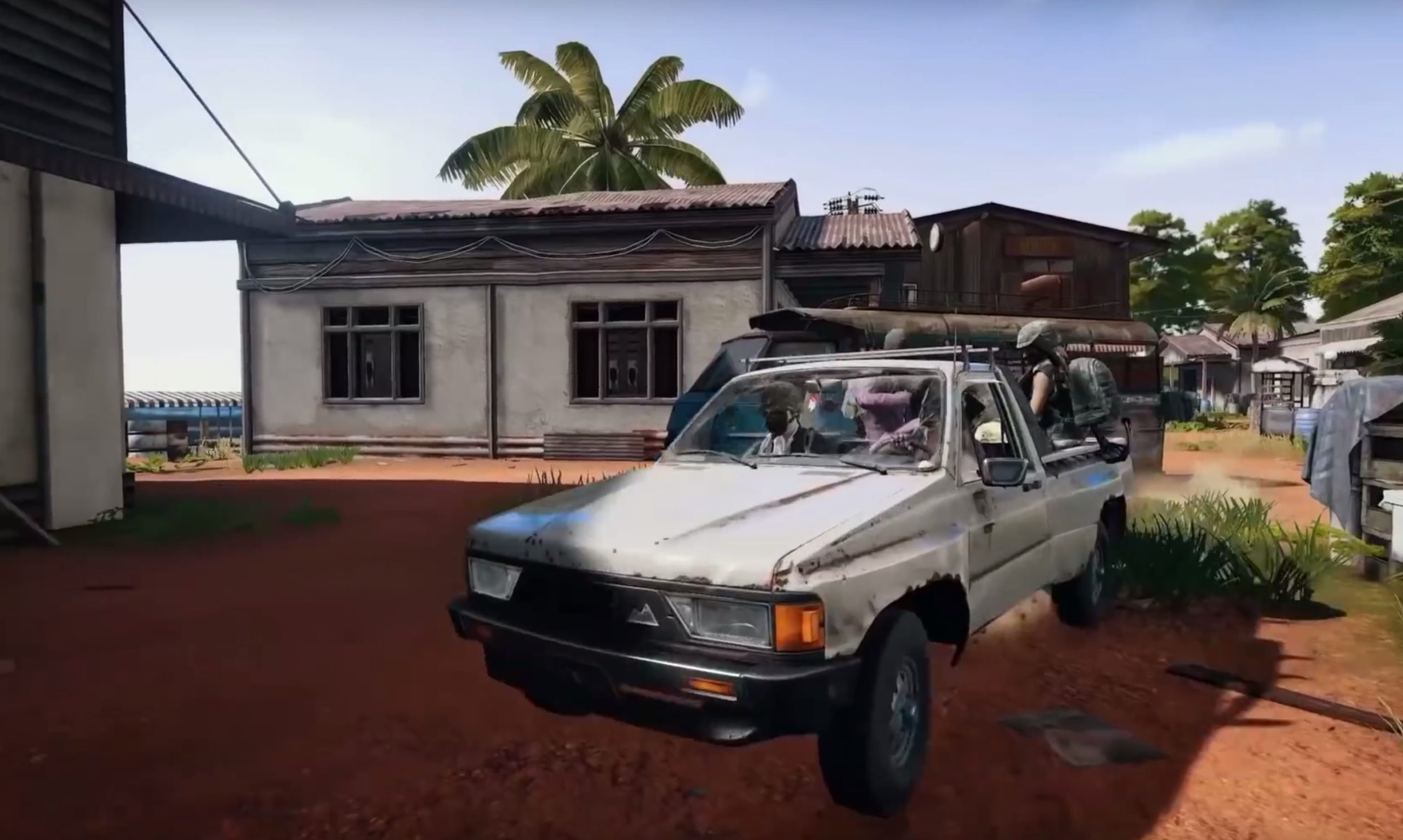 New Pickup Truck and Rifle Coming to Sanhok