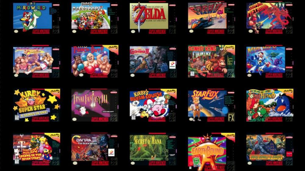 Nintendo Retro Games