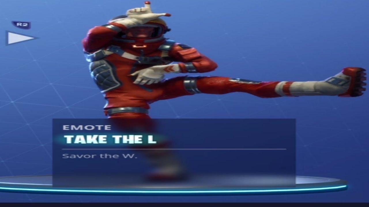 Fortnite Take the L