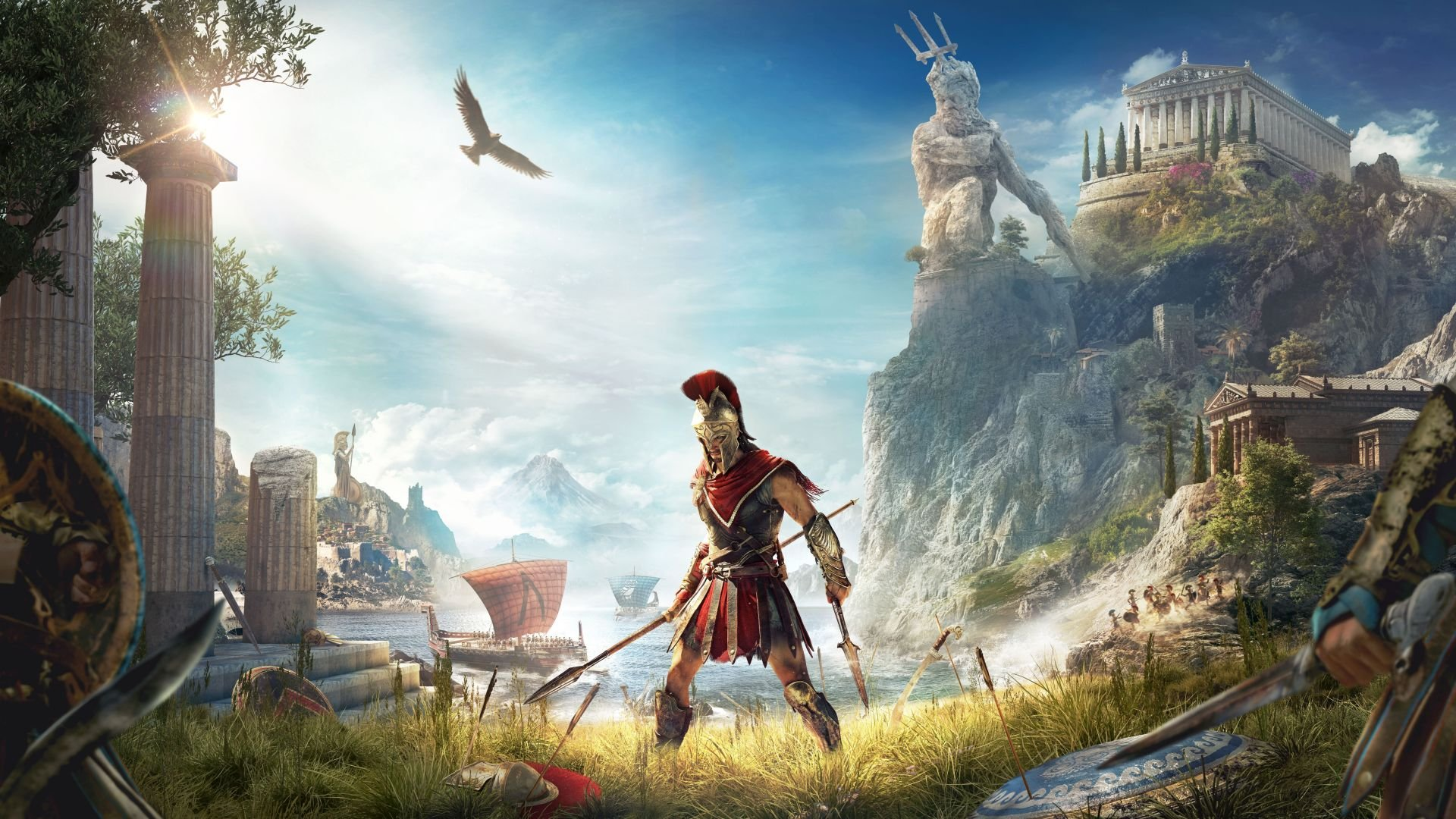 Listen to 'Legend of the Eagle Bearer', Assassin's Creed Odyssey's Main Theme