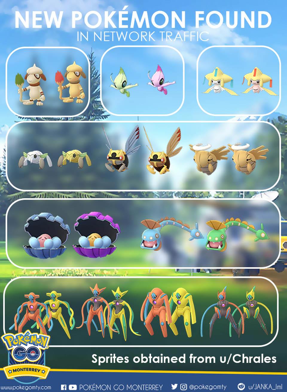 Pokemon Go Chrales Leak