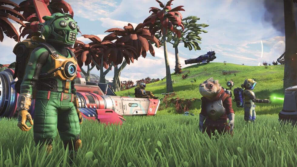 Hello Games Unveils No Man's Sky NEXT Trailer