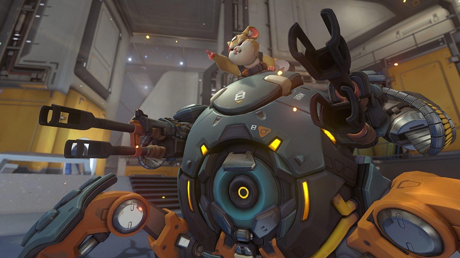 Wrecking Ball Overwatch Hammond