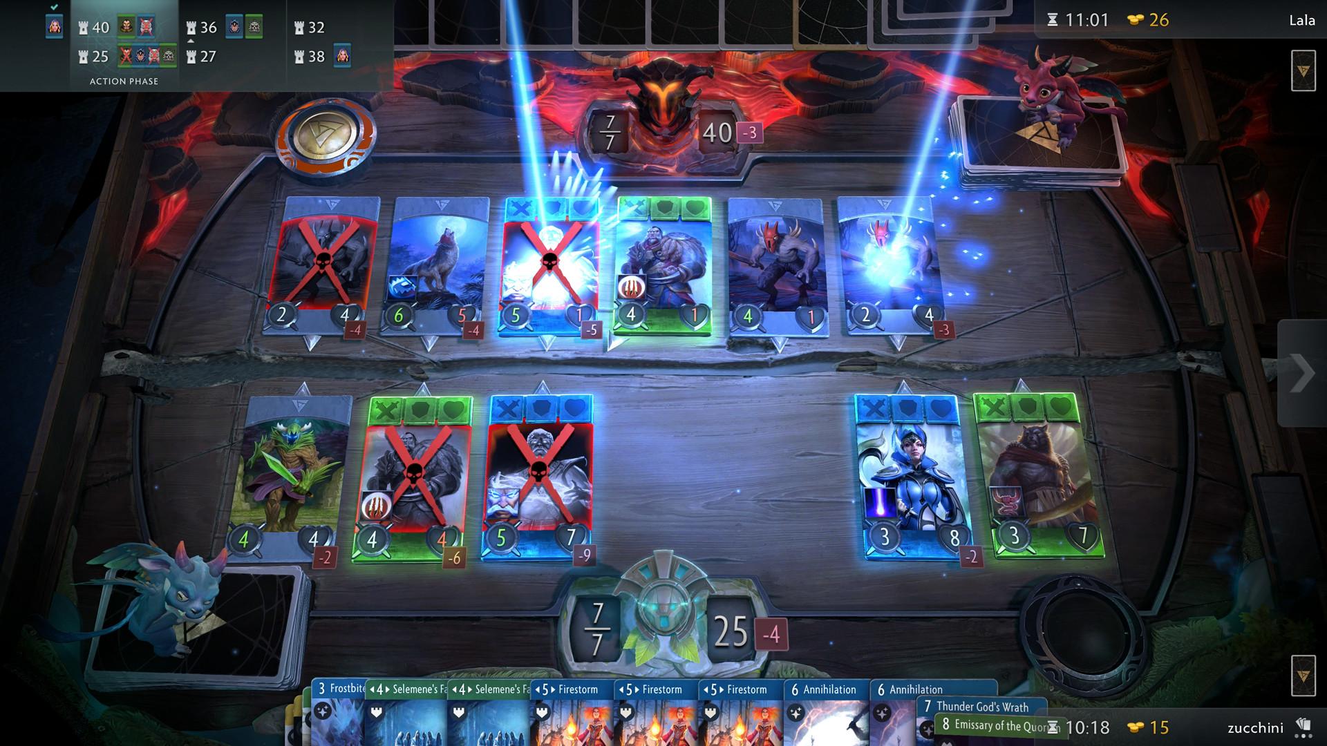 Valve's Dota 2 Inspired Card Battle Game, Artifact, Releases November 28th