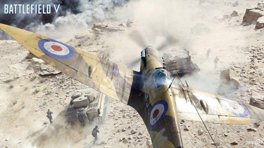 DICE Releases Frantic Battlefield V Gamescom Trailer