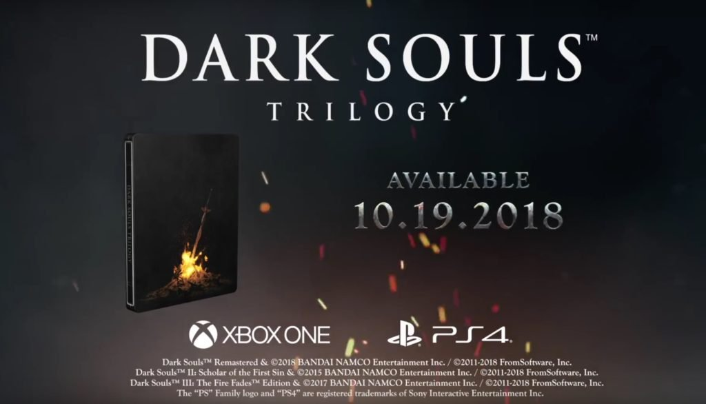 Dark Souls Trilogy Announced, Features Three Games & All DLC