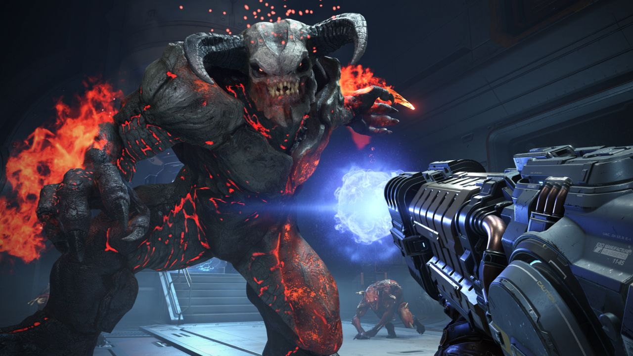 Obscenely Brutal 'Doom Eternal' Gameplay Unveiled At QuakeCon - EXP GG